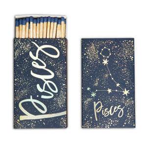 "Pisces 4"" Matches"