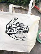 Eat the Pastryarchy Tote Bag