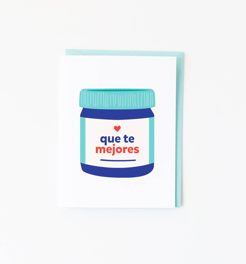 Que Te Mejores Vicks Greeting Card
