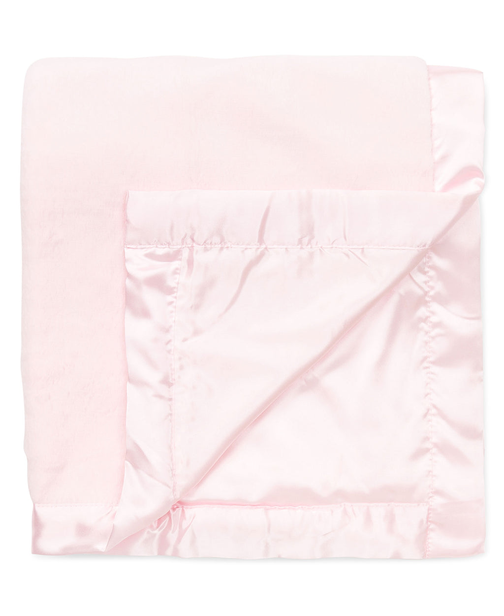 Pink Plush Receiving Blanket