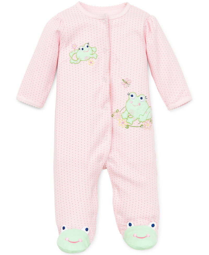 Frog Friends Footed One-Piece
