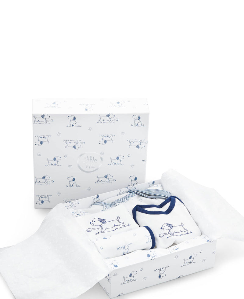 Puppy Toile Gift Box Set