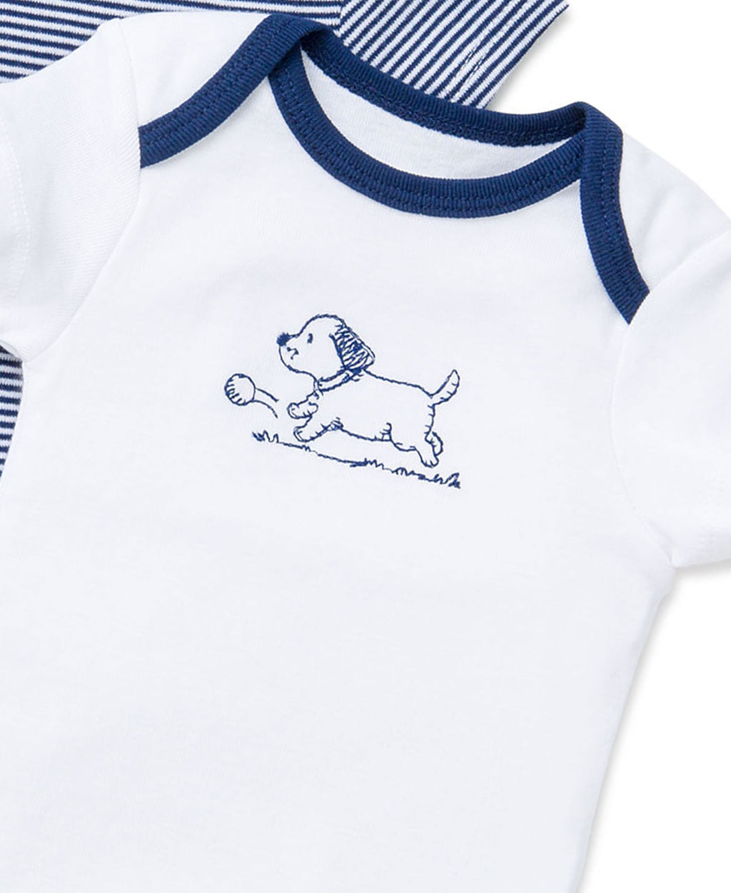 Puppy Toile 3-Pack Bodysuits