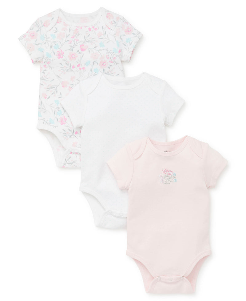 Watercolor 3-Pack Bodysuits - Little Me
