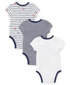 Sports Star 3-Pack Bodysuits - Little Me