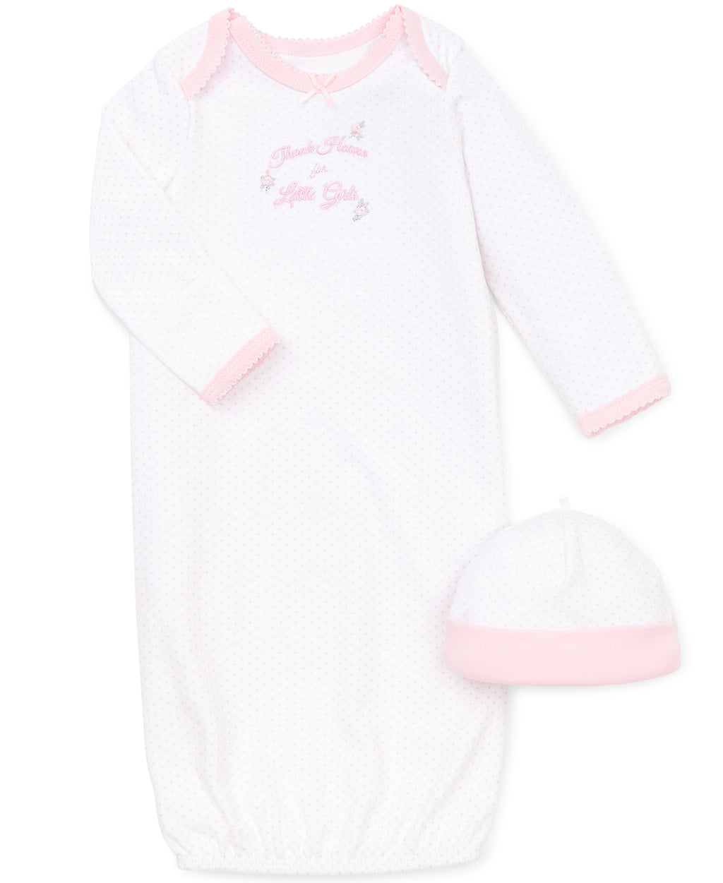 Girl Thanks Sleeper Gown And Hat