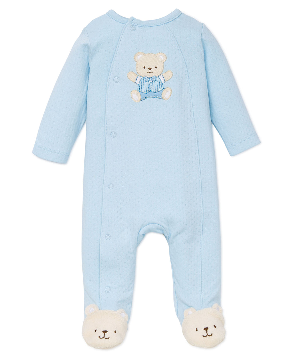 Cute Bear Footed One-Piece