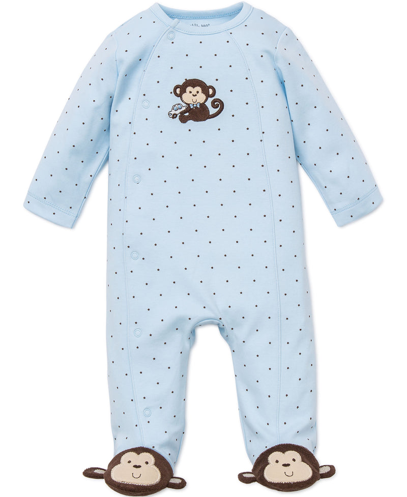 Little Monkey Footed One-Piece - Little Me