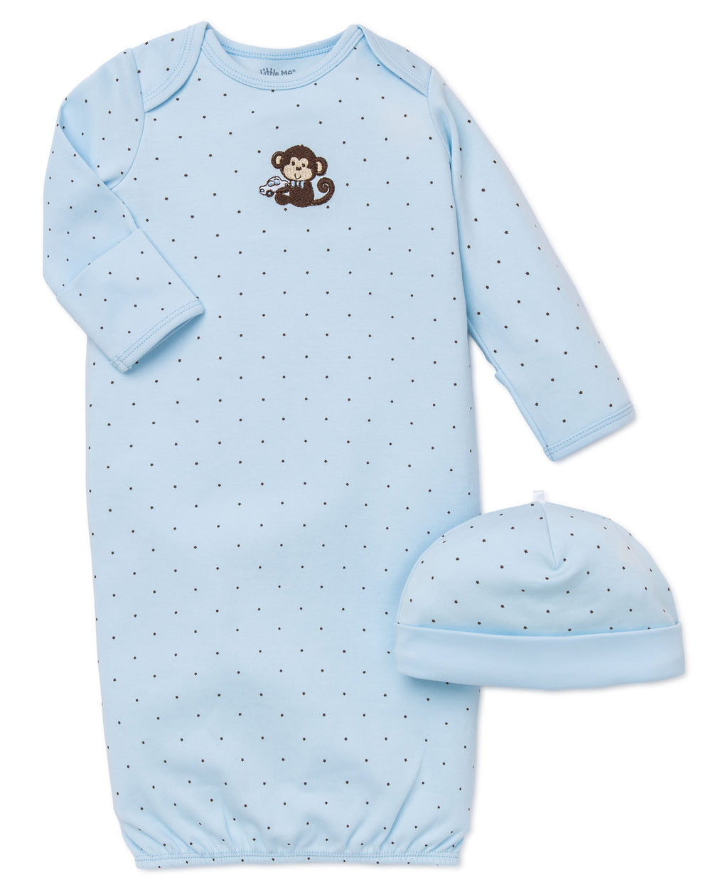 Little Monkey Sleeper Gown And Hat