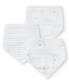 Puppy Star 3-Pack Bandana Bibs