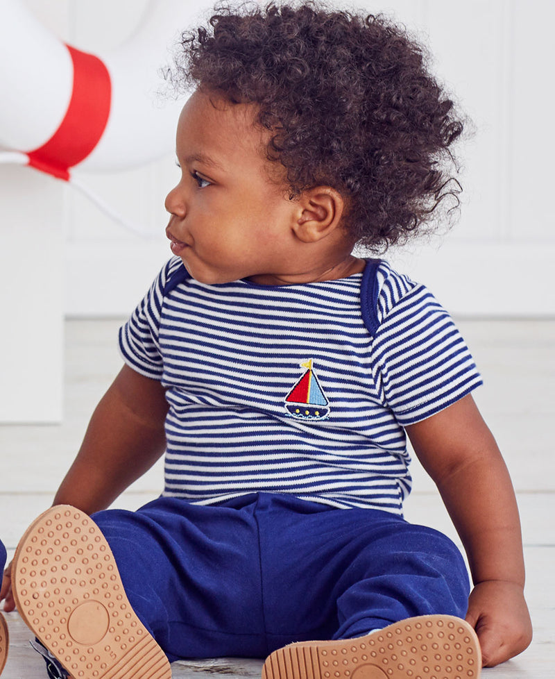 Sailboat 2-Pack Bodysuit and Pant Set - Little Me