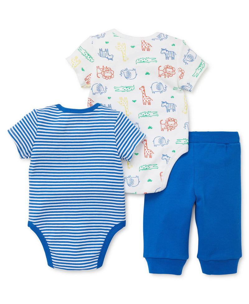 Safari 2-Pack Bodysuits and Pant Set - Little Me