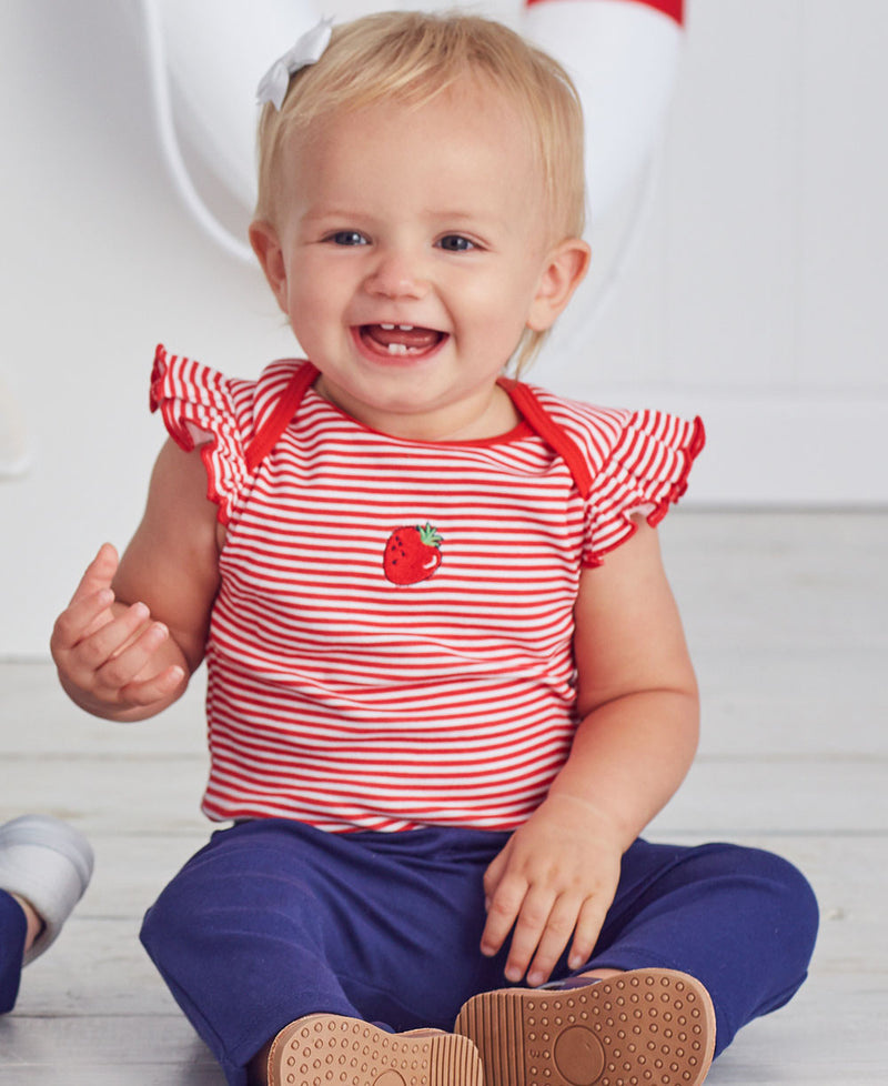 Strawberry 2-Pack Bodysuit and Legging Set - Little Me