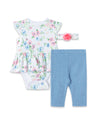 Floral Bodysuit and Pant Set
