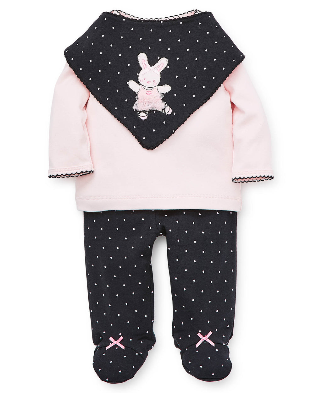 Ballerina Footed Pant Set