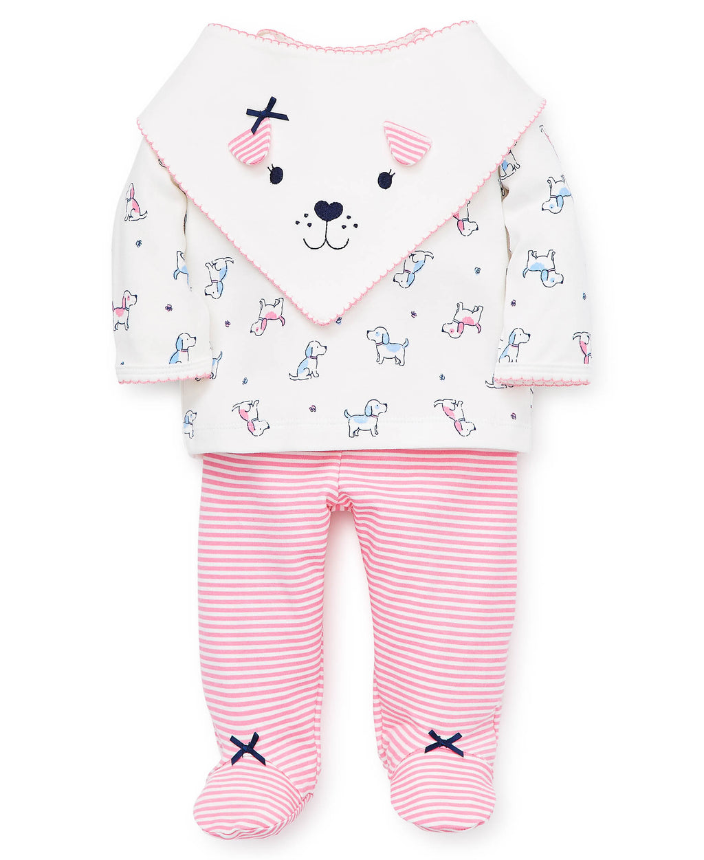 Cute Puppy Pant Set