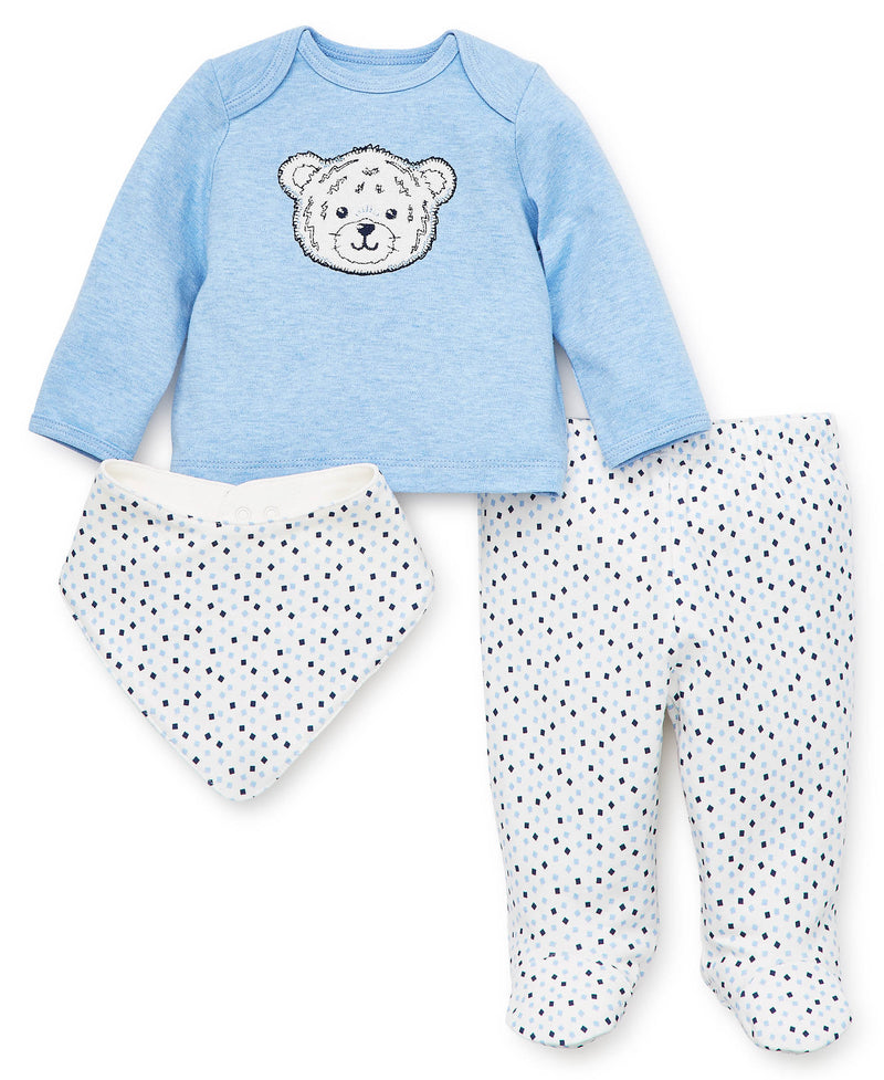Tiger Geo Footed Pant Set