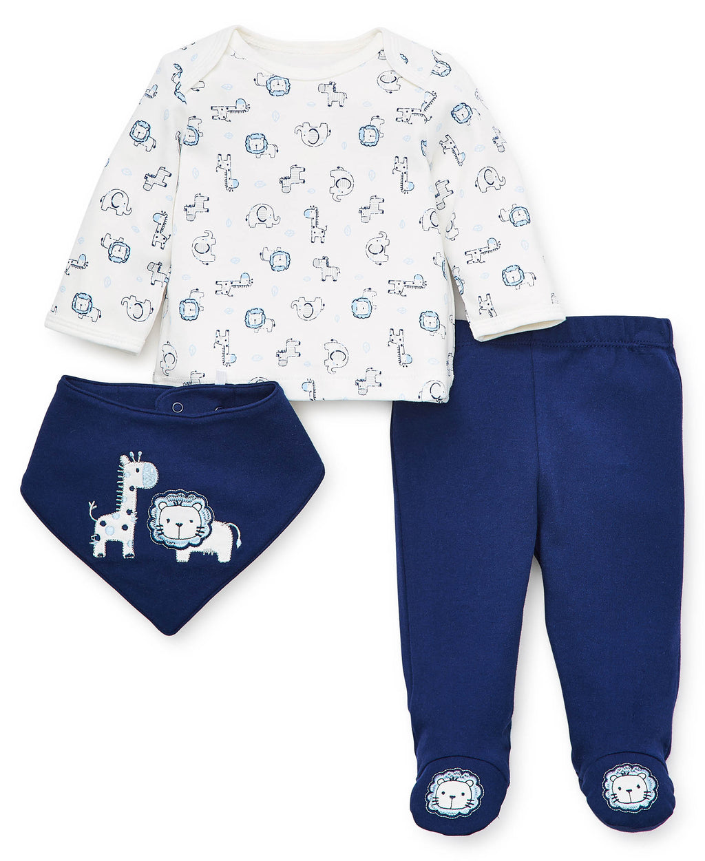 Safari Footed Pant Set