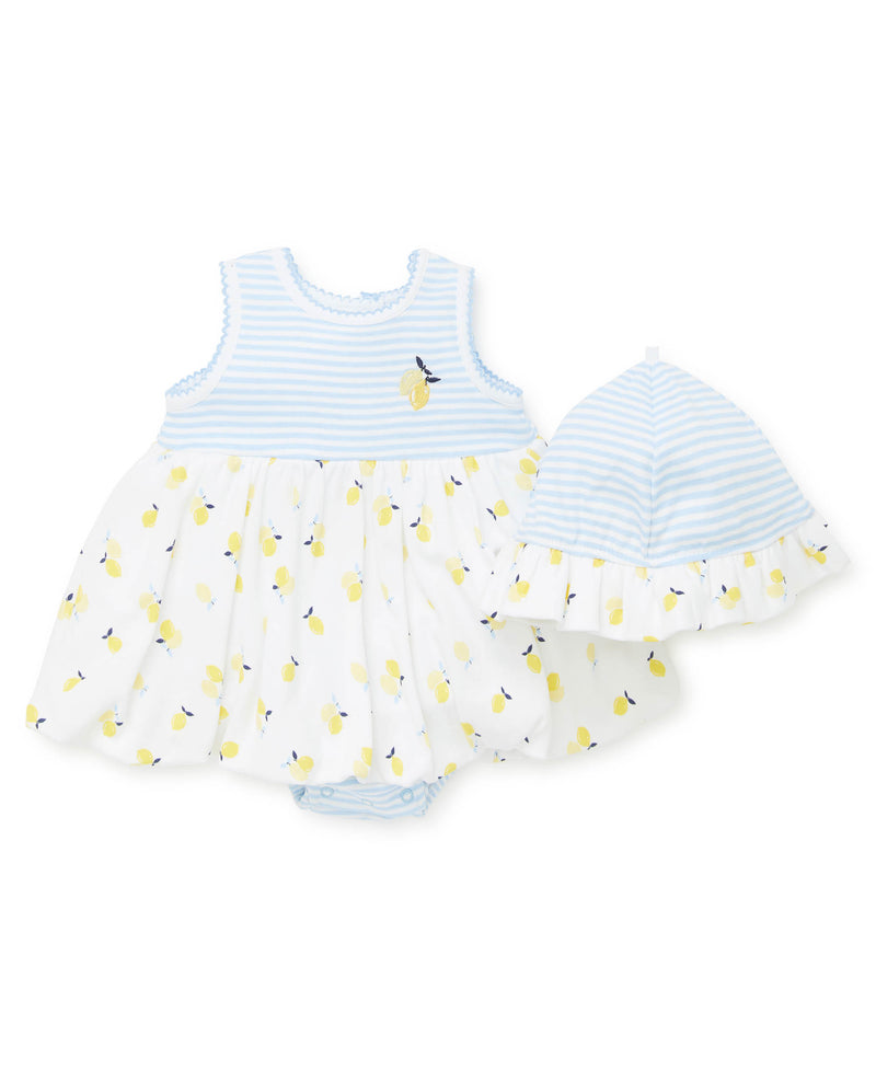 Lemon Popover Dress - Little Me