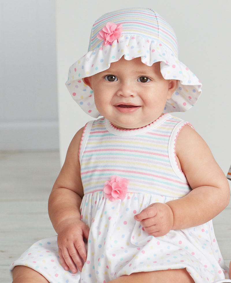 Rainbow Popover Dress - Little Me