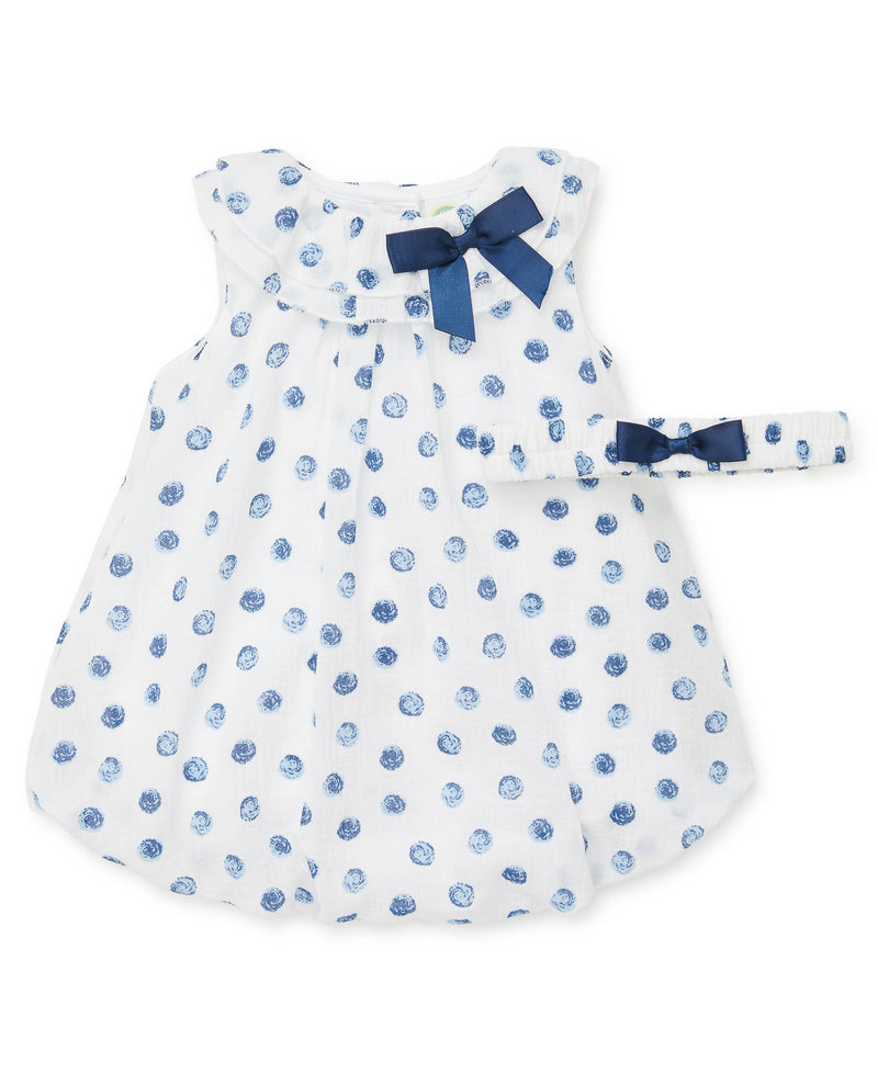 Blue Dots Romper - Little Me
