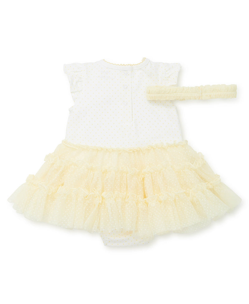 Daisy Tutu Popover Dress - Little Me