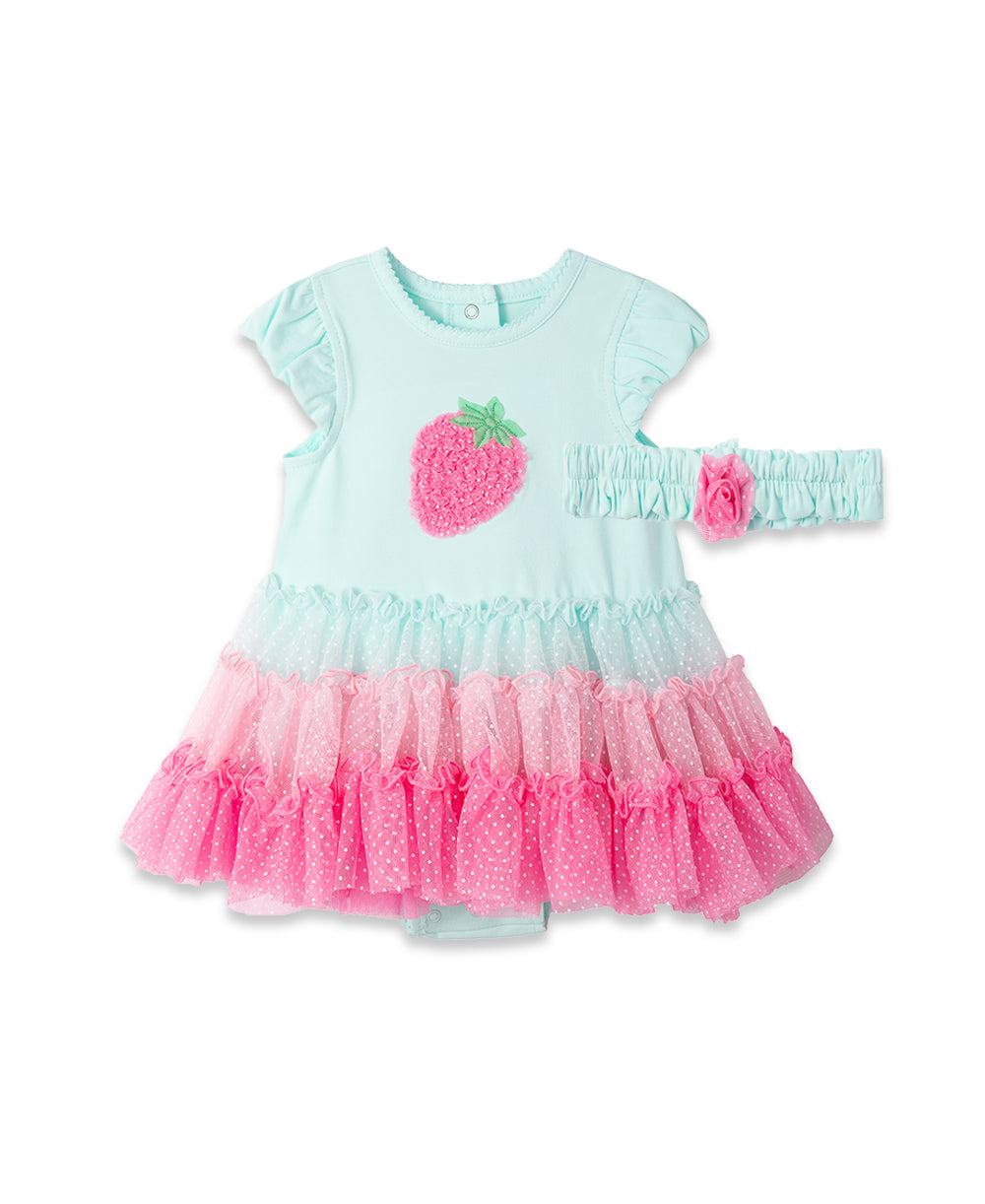 Strawberry Tutu Popover