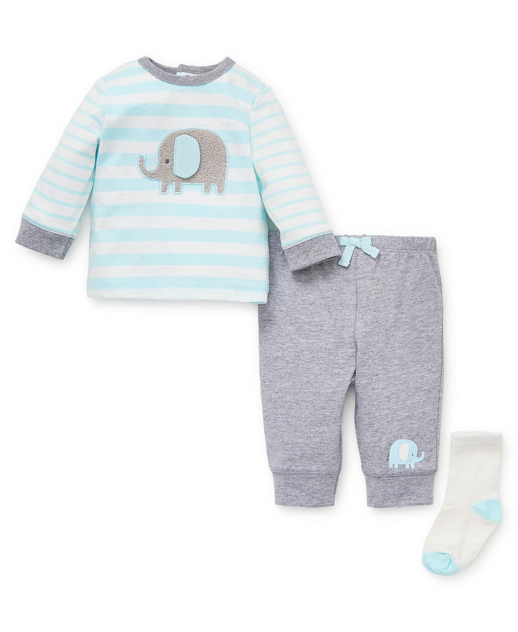 Gray Elephant Jogger Set