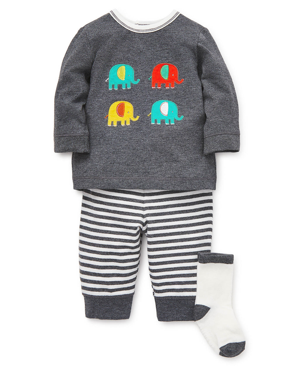 Colorful Elephants Jogger Set