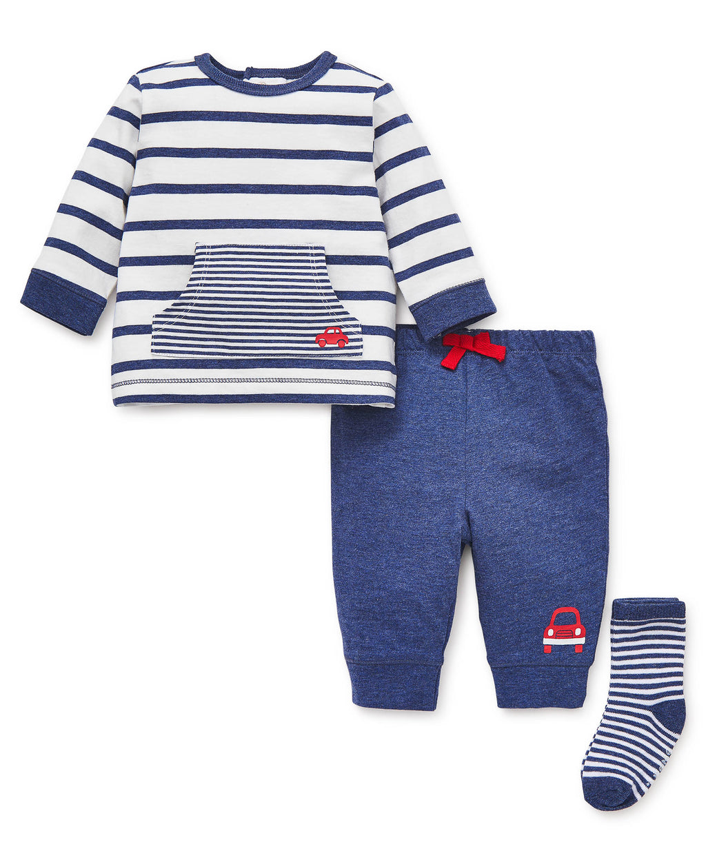 Stripe Car Jogger Set