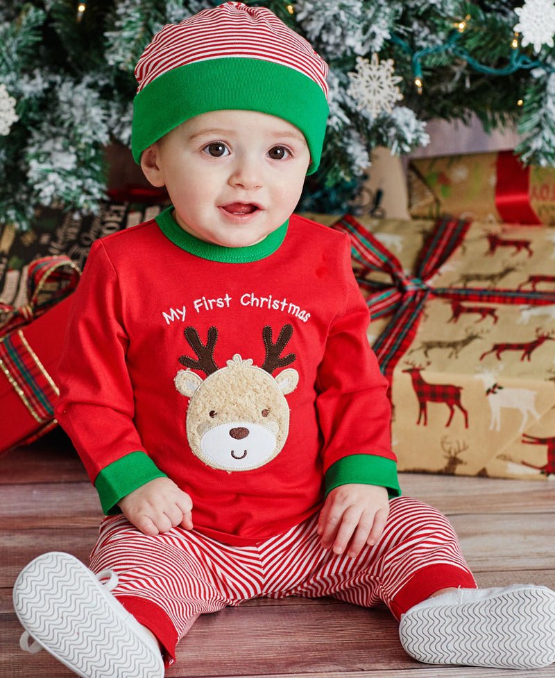Holiday Reindeer Jogger Set