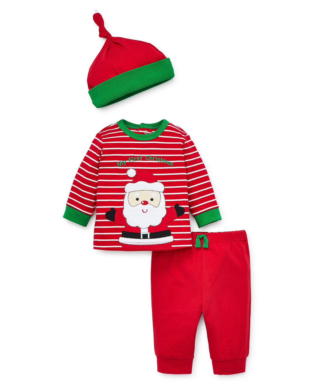 Holiday Santa Jogger Set