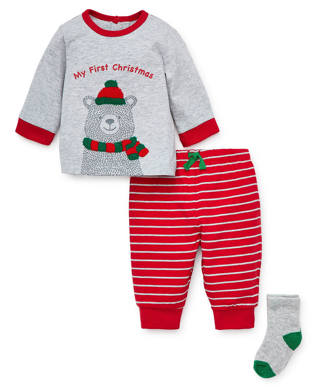 Holiday Bear Jogger Set