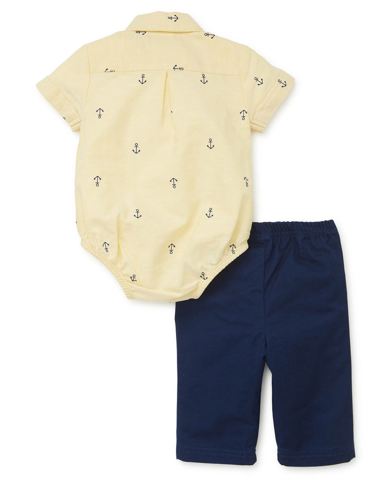 Anchor Pant Set - Little Me
