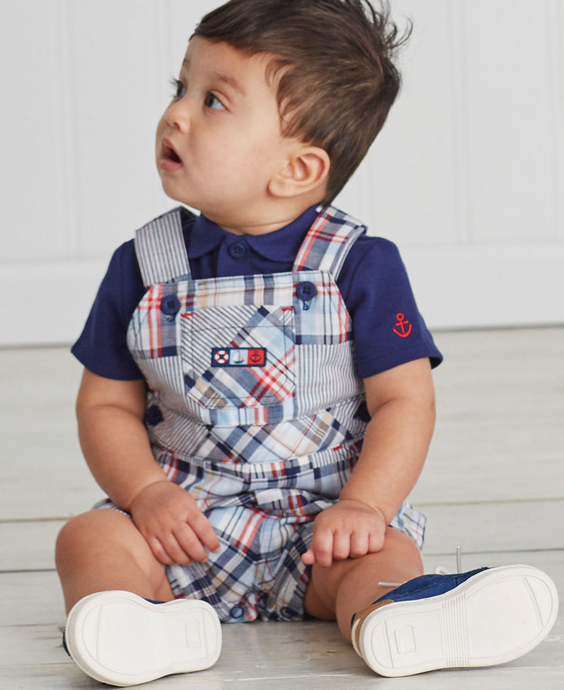 Patchwork Romper Set - Little Me