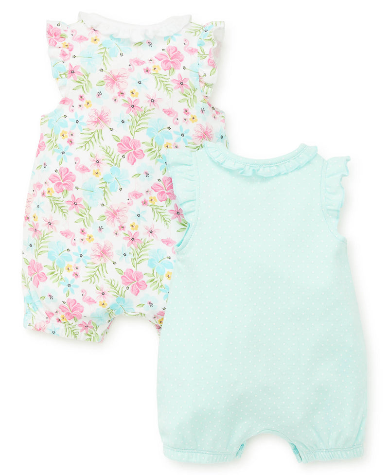 Tropical 2-Pack Rompers - Little Me