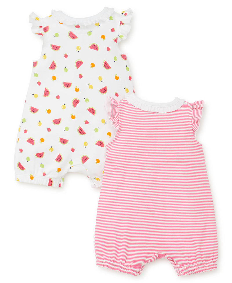 Fruit 2-Pack Rompers - Little Me