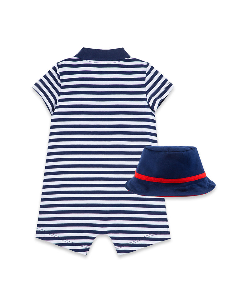 Sailboat Romper & Hat