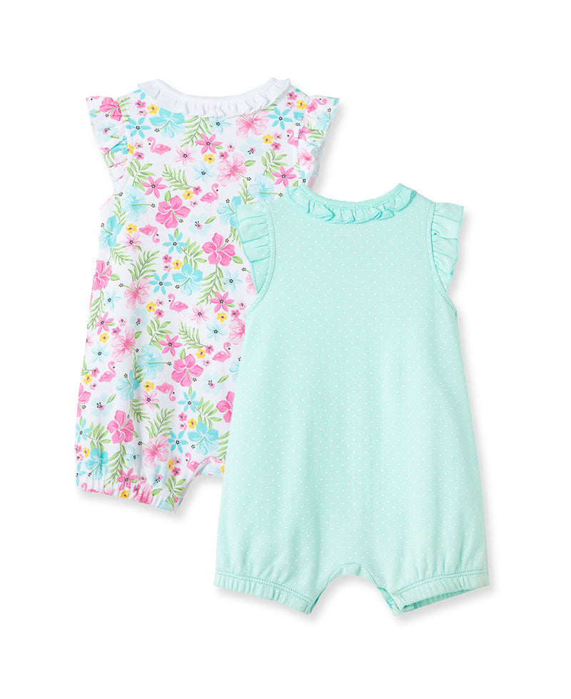Tropical 2-Pack Rompers