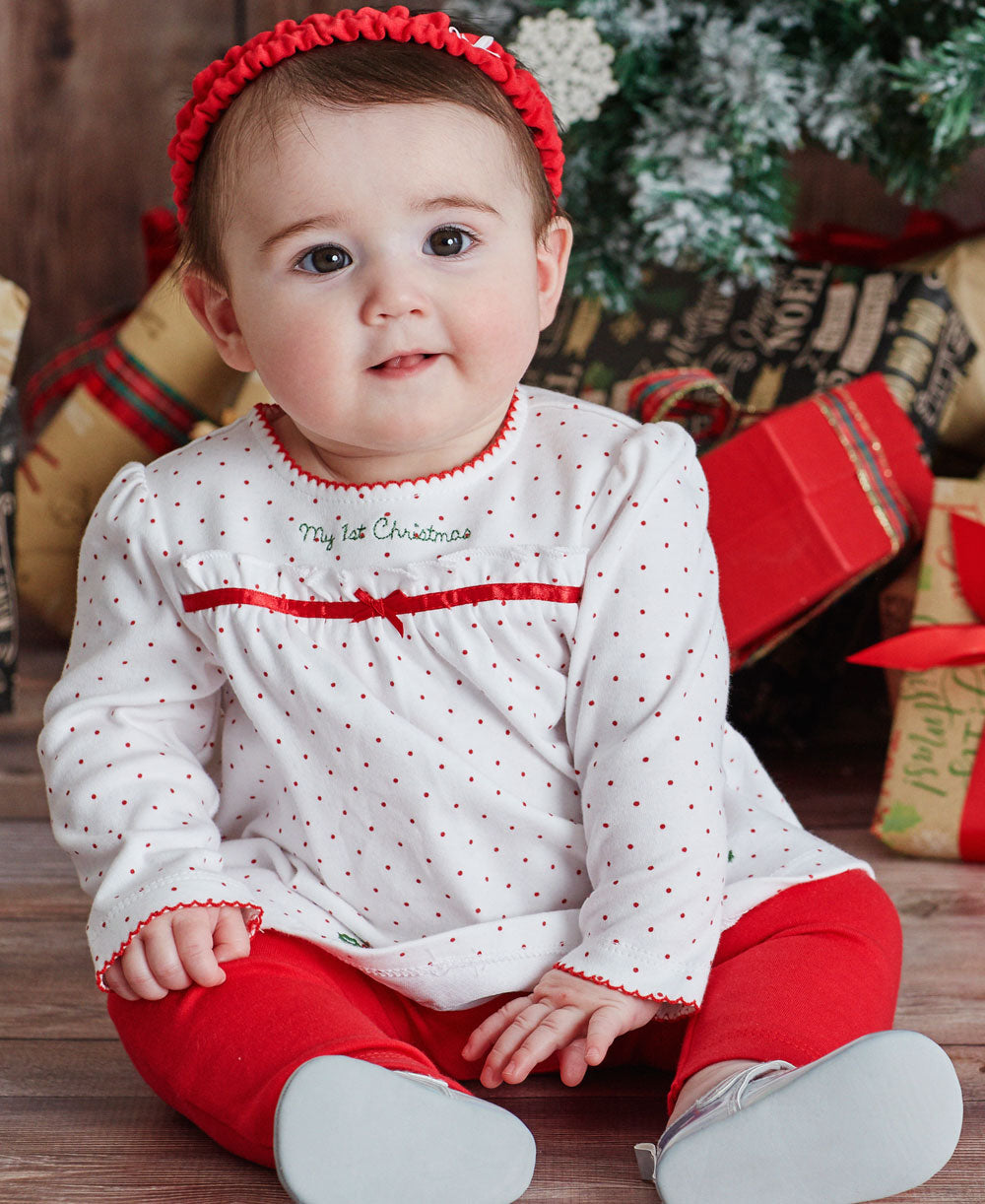 Holiday Holly Tunic Set