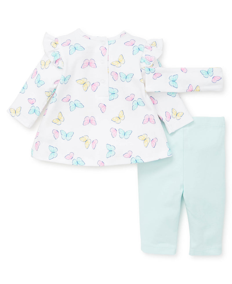 Butterfly Tunic Set - Little Me