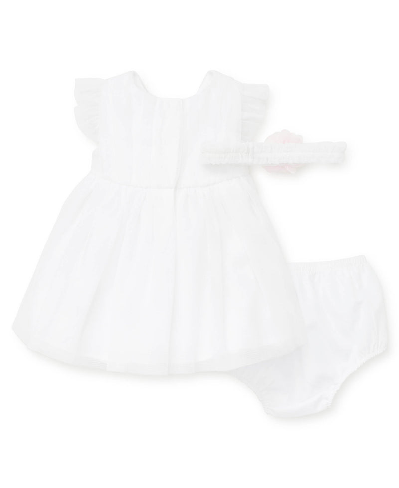 White Tulle Dress - Little Me
