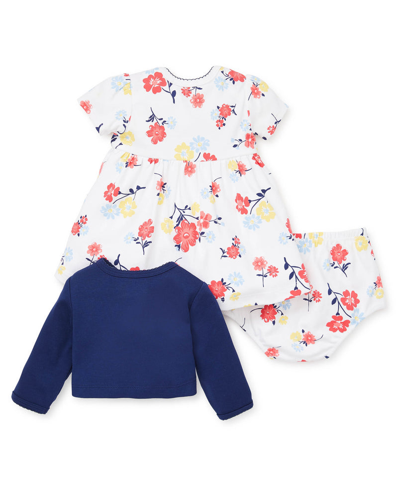 Colorful Florals Dress Set - Little Me