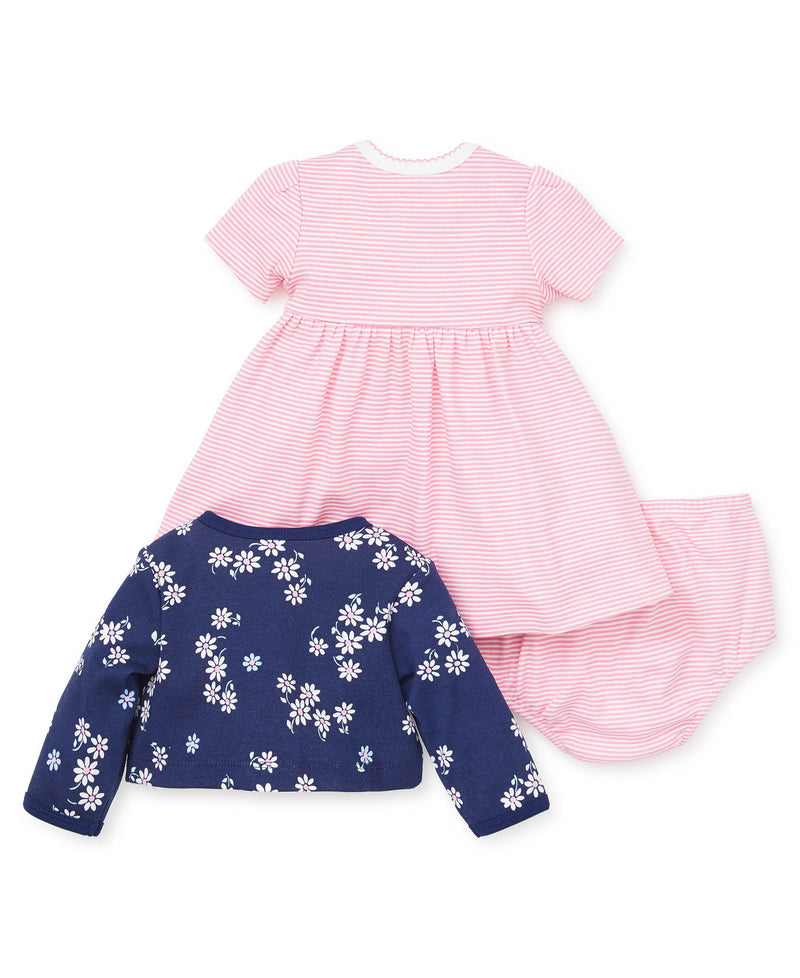 Daisy Stripe Dress Set - Little Me