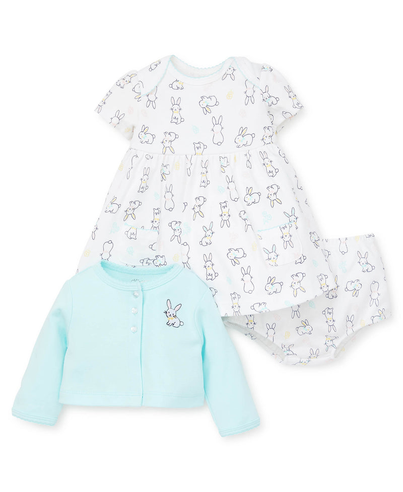 Bunnies Dress Set - Little Me