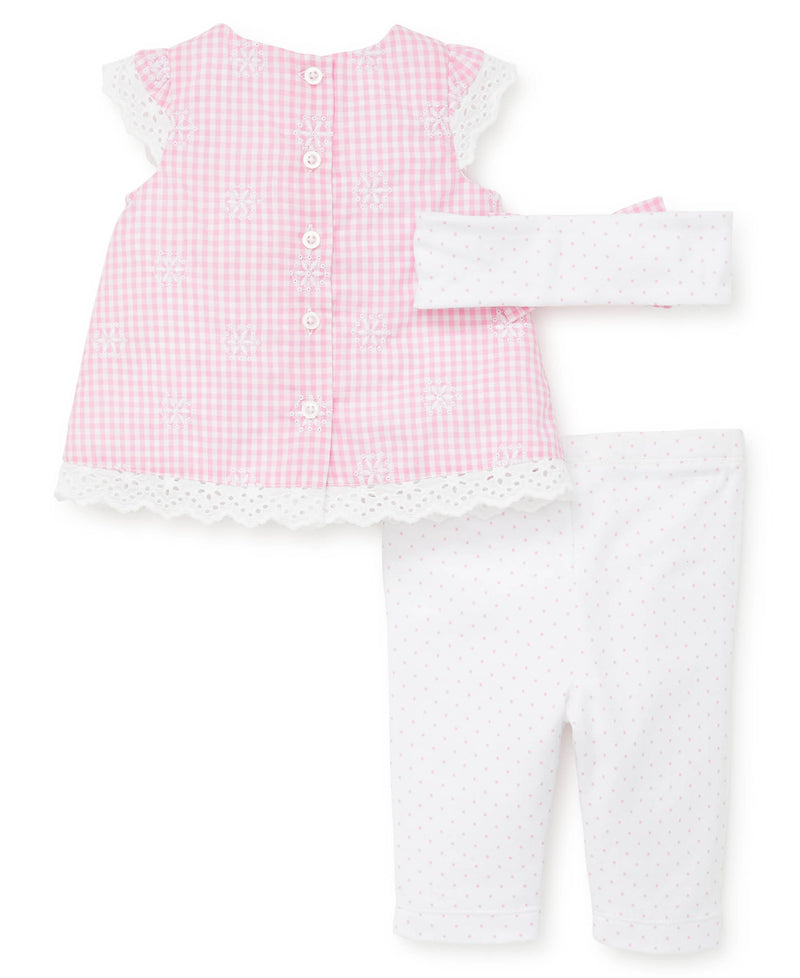 Gingham Woven Tunic and Leggings - Little Me