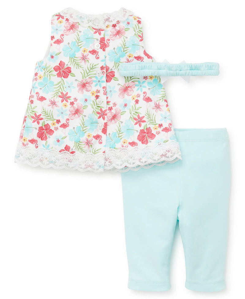 Tropic Infant Woven Tunic and Leggings - Little Me