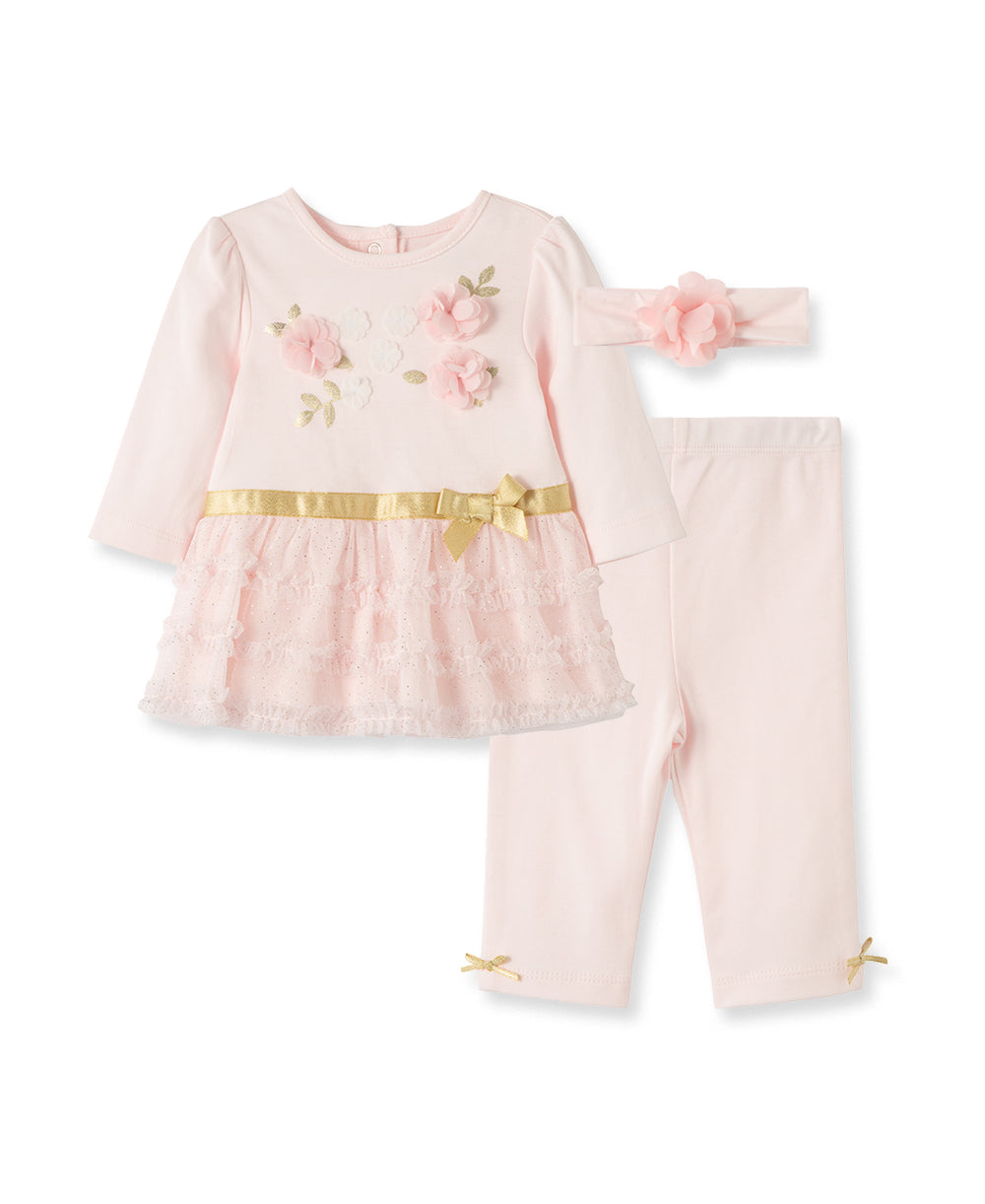 Rosette Tutu Legging Set