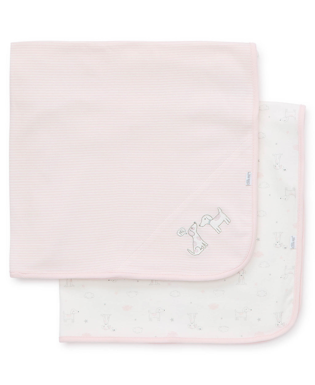 Puppy Love Receiving Blanket (2-Pack)
