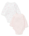 Bunny Petals Long-Sleeve Bodysuits (2-Pack) - Little Me